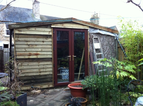 Taking shape.