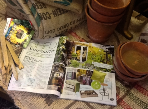 The lovely people at Modern Garden Magazine chose my she shed to grace their pages. Very proud.