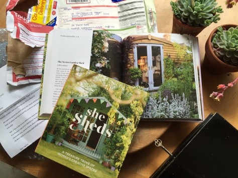 She shed book