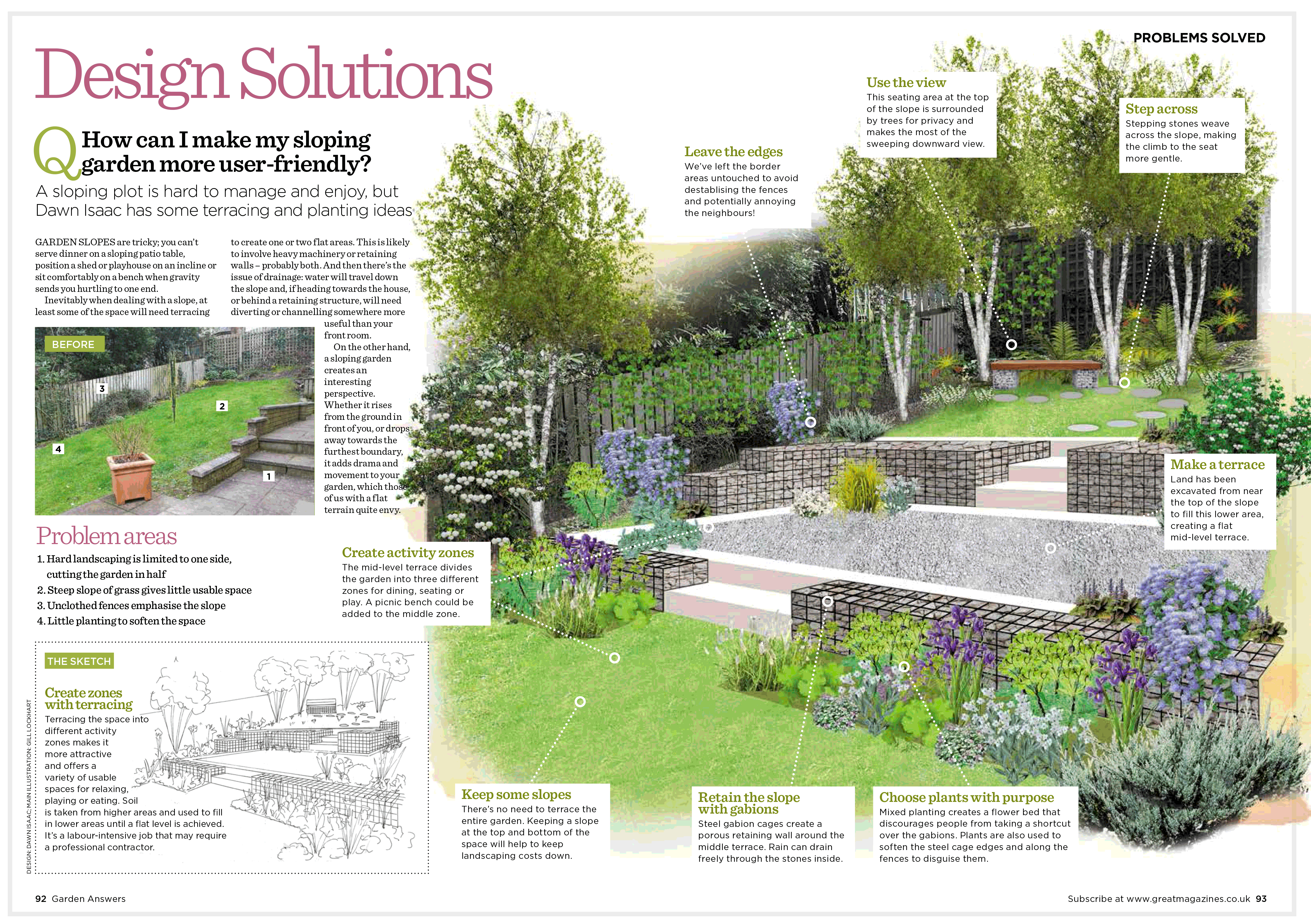 Tantrums and miracles in the garden a blog about my for Garden design help