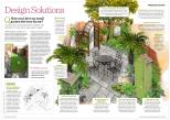 A tropical courtyard