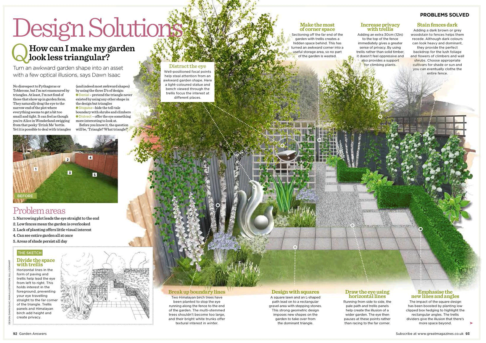 May 2013 tantrums and miracles in the garden for Garden design solutions