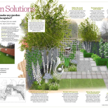 A triangle-shaped garden is no longer a problem
